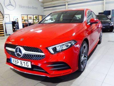 begagnad Mercedes A180 AMG-Line Demo