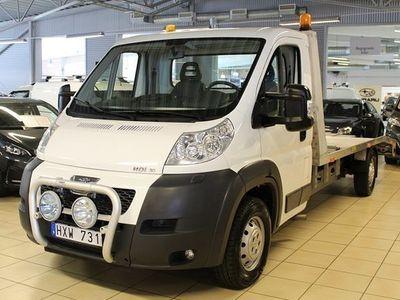 begagnad Peugeot Boxer Biltransport AL-KO Chassi 3,5ton 335 L3 3,0H 2011, Transportbil 189 900 kr