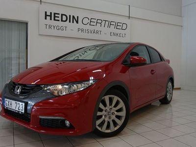 begagnad Honda Civic 1.8 i-VTEC 5dr 142hk | PANORAMA TAK