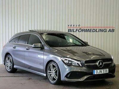 begagnad Mercedes CLA180 Shooting Brake 7G-DCT AMG Sport Euro 6 122hk