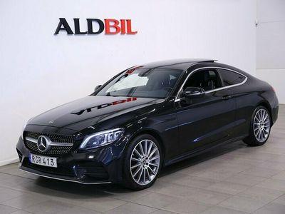 begagnad Mercedes 220 C Benz CCoupé 4MATIC AMG-Line Premiumpkt 2019, Sportkupé Pris 339 000 kr