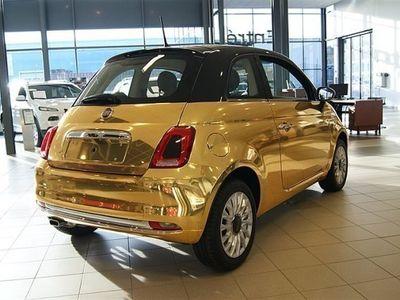 begagnad Fiat 500 1,2 Gold Edition 69Hk
