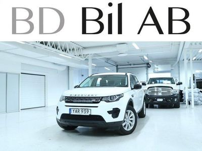 begagnad Land Rover Discovery Sport 2.0 TD4 4WD A-DRAG NAVI