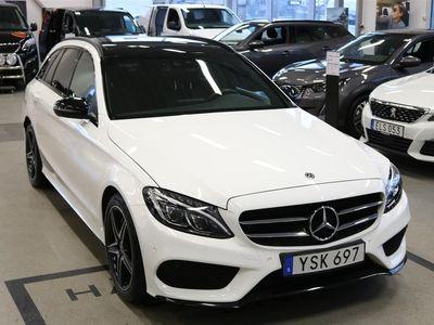 begagnad Mercedes C300 Amg-Line 245hk Aut Pano Backkamera