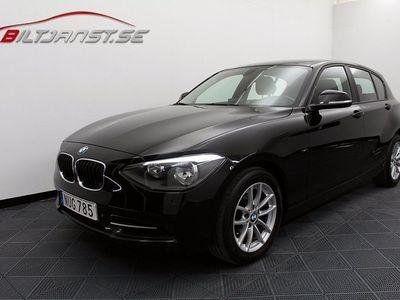 begagnad BMW 120 d 5-dörr Sport line Drag