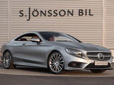 begagnad Mercedes S500 Coupe AMG / Fri hemlevera