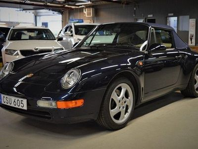 begagnad Porsche 993 Cabriolet 272 hk