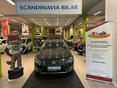 begagnad VW Passat Variant 1.6 TDI BlueMotion 105hk LÅG MIL
