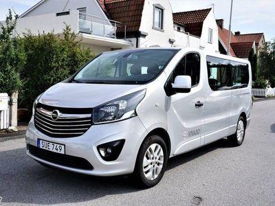 begagnad Opel Vivaro Kombi 1.6 CDTI BIturbo Euro 6 145hk Svensksåld