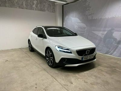 begagnad Volvo V40 CC T3 Pro Edition, Garanti 24 månader, On call, Fast dragkrok, Parkeringskamera bak, Navigation, Förarstol & passagerarstol elmanövrerad