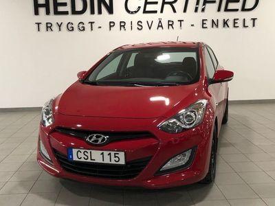 begagnad Hyundai i30 1.6 CRDi Premium Eco 128hk 5-dörrar Manuell