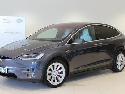 begagnad Tesla Model X P90D AWD