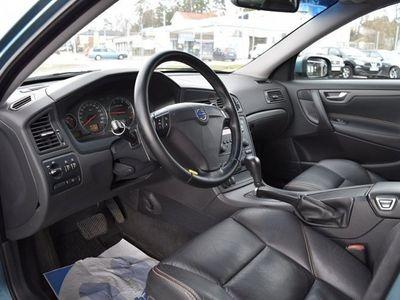 begagnad Volvo S60 2,4 D 163HK AUT SKINN 1ÄGARE -08