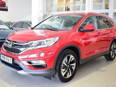 begagnad Honda CR-V 1.6 160hk 4WD Lifestyle NAVI KAMPANJ