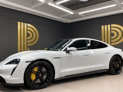 begagnad Porsche Taycan Turbo S SE UTR Pano Sv-såld 2020, Personbil 2 249 000 kr