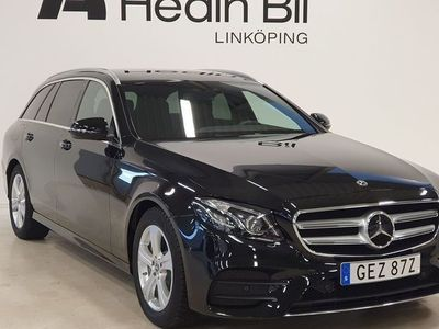 begagnad Mercedes E200 AMG Parkeringsvärmare Dragkrok Multibeam Distronic DEMO