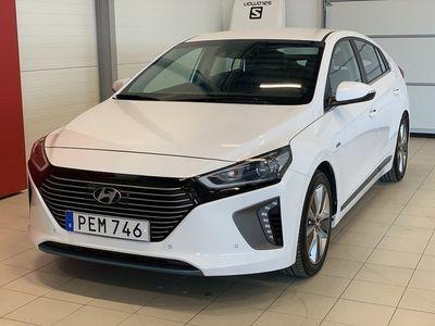 used Hyundai Ioniq Hybrid 1.6 AUT Premium Plus (141hk) minne, rattvärme