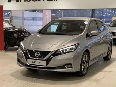 begagnad Nissan Leaf DEMOBIL LEVERANS 2020 JUNITEKNA MY19 40 KWH