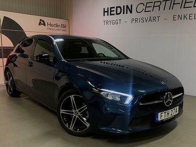 begagnad Mercedes A180 - Benz- Demo / Omgående leverans / Nightpackage