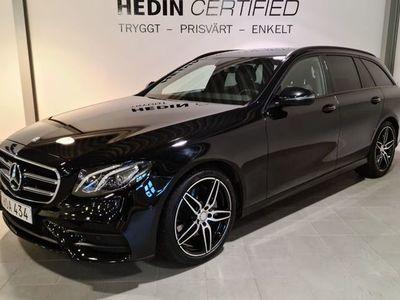 begagnad Mercedes 220 - Benz E - KLASST d 9G - Tronic AMG Sport / NAVI / Drag