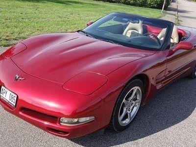 brugt Chevrolet Corvette Cabriolet 340hk Aut Skinn -04