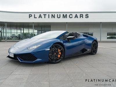 begagnad Lamborghini Huracán HuracánSpyder 5.2 V10 610hk