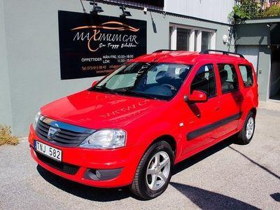 begagnad Dacia Logan MCV 1.6 eco2 1Ägare 2011, Transportbil 24 900 kr