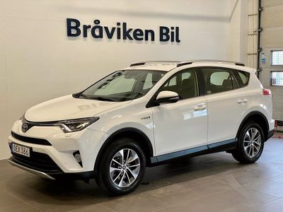 begagnad Toyota RAV4 Hybrid E-FOUR 2.5 i-AWD ECVT Euro 6 197hk