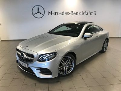 begagnad Mercedes E300 COUPÉ AMG GLASTAK NAVI
