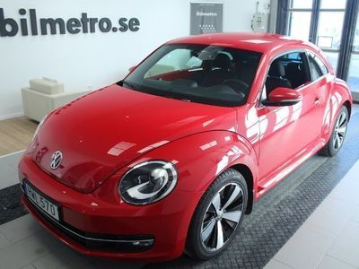 gebraucht VW Beetle TSI 150hk Premium Vinterhjul/Backkamera