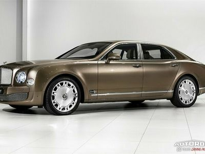 begagnad Bentley Mulsanne 3Y