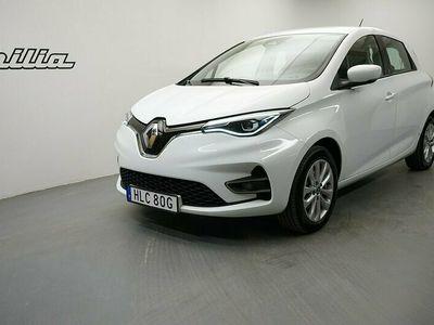 begagnad Renault Zoe R110 PhII 52 kWh Zen batteriköp. Kvarvarande nybilsgaranti