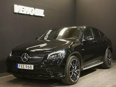 begagnad Mercedes GLC43 AMG AMGCoupé 4MATIC Värmare Distronic Navi Drag 360-Kamera