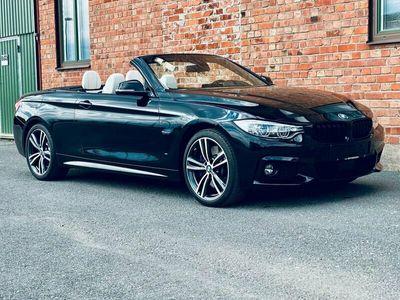 begagnad BMW 440 i xDrive cab M-sport Head-up Navi H&K 1 års garanti