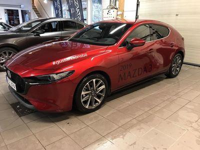 begagnad Mazda 3 2.0 M Hybrid Sky Tech pack 122hk Aut Demobil, inkl mv och vhjul