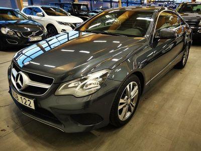 begagnad Mercedes E200 Coupé 7G-Tronic Plus Euro 6 184hk