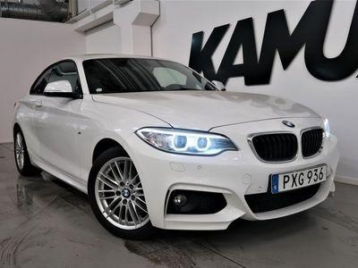 begagnad BMW 218 d Coup   M-sport   Taklucka   Eu6
