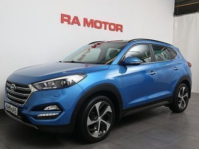 begagnad Hyundai Tucson 2,0 CRDi 184HK Premium AWD Aut -16
