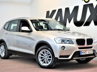 begagnad BMW X3 xDrive20d | Navi | Drag | S&V-Hjul (184hk)