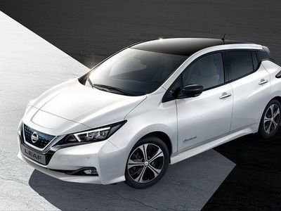 begagnad Nissan Leaf NYA 62kWh 3.ZERO E+ REDO ATT BEST -19
