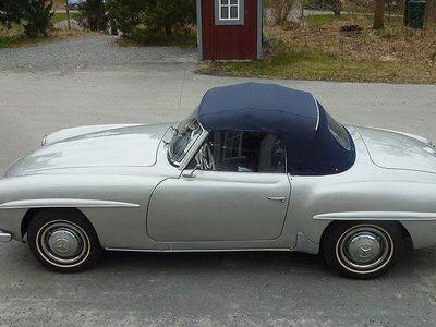 begagnad Mercedes 190 SL Roadster 1955.