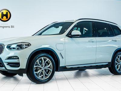 begagnad BMW X3 xDrive30e xLine Navi Drag Backkamera HiFi Svanskstöd