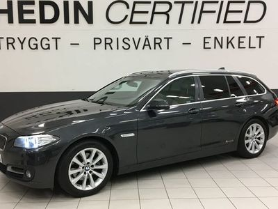 begagnad BMW 520 d (190hk) Xdrive DRAG / LÄDER / EU 6