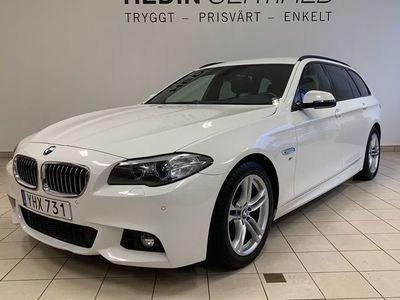 begagnad BMW 520 d Xdrive Touring M-Sport, Drag, Hifi-Sound