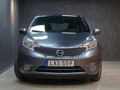 begagnad Nissan Note 1.2 80hk V-Hjul Bluetooth Nyservad