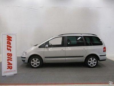 used VW Sharan 2.8 V6 204 Hk 4x4 Manuell Sport 6sits