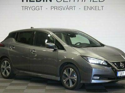 begagnad Nissan Leaf N-CONNECTA MY20 40 KWH LED 2021, Halvkombi Pris 299 900 kr