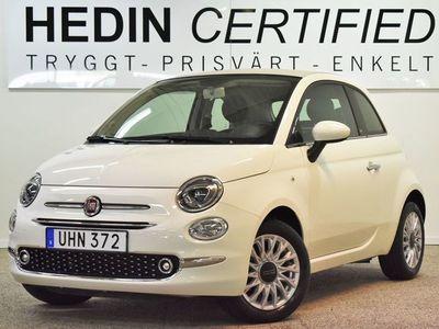 begagnad Fiat 500C 1,2 69Hk Lounge Låga Mil