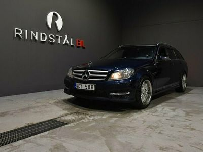 begagnad Mercedes C200 T CDI BE 136 HK AUT DRAG AMG SPORT