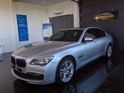 begagnad BMW 740 d M Sport TV Pano Fullutrustad 306hk